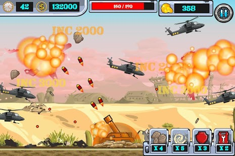 Heli Invasion 2 -- stop helicopter with rocket - náhled