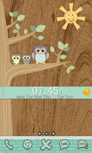 Go Launcher Themes: Hoot screenshot 7