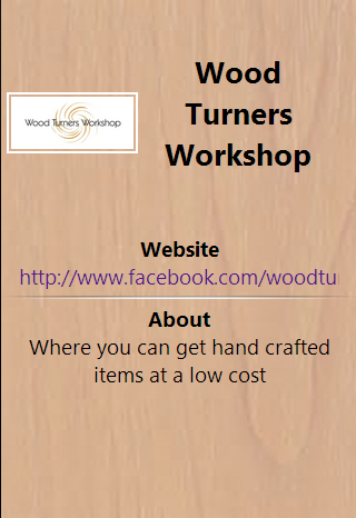 Wood Turners Workshop