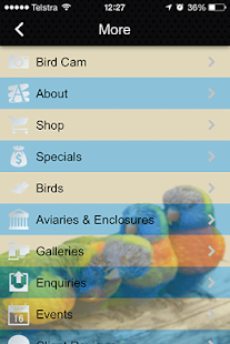 Camsal Aviaries- screenshot thumbnail