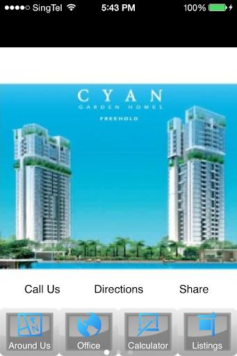 Cyan Condo