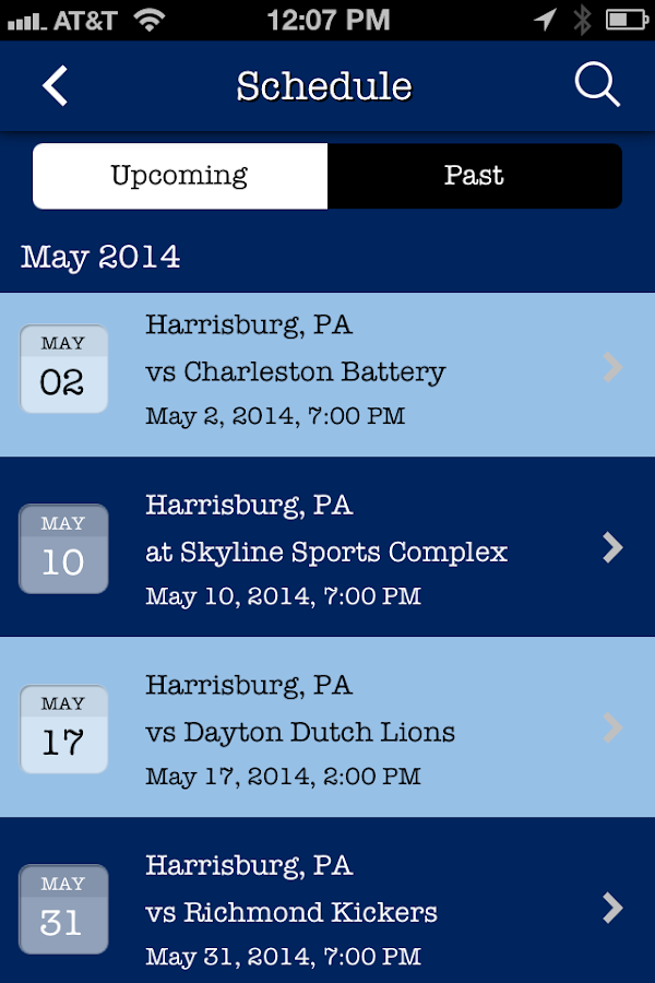 The Harrisburg City Islanders- screenshot