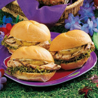 Luau Chicken Sandwiches