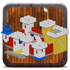 Brick building examples icon
