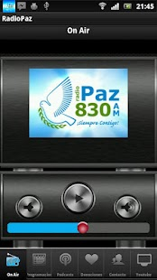 RADIO PAZ 830 AM: miniatura de captura de pantalla