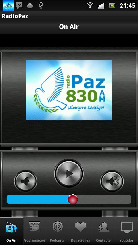 RADIO PAZ 830 AM - screenshot