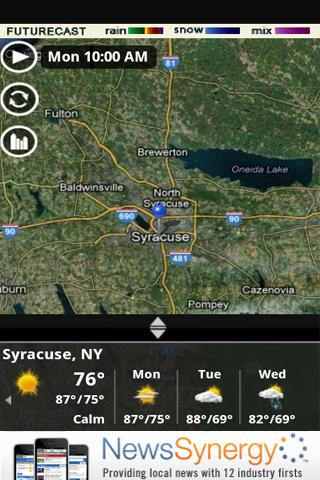 Storm Team 9 WSYR Syracuse - screenshot