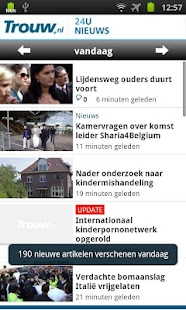Trouw.nl Mobile - screenshot thumbnail