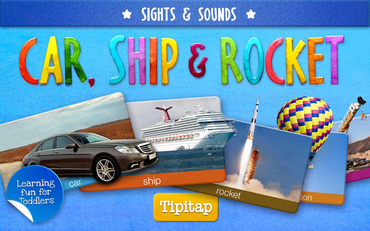 Toddler Car, Ship & Rocket HD - screenshot