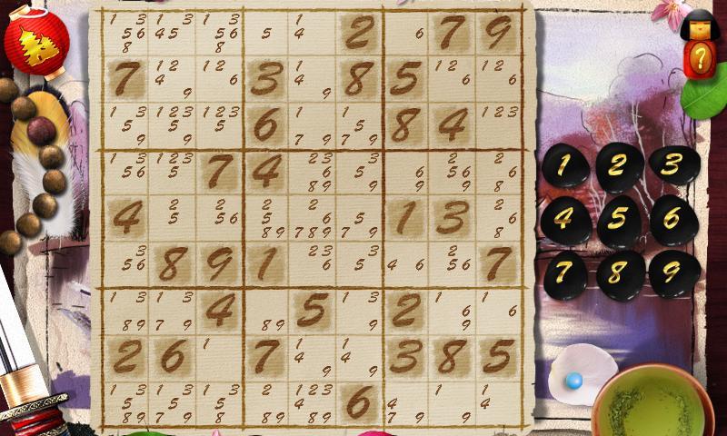 Sudoku Samurai- screenshot