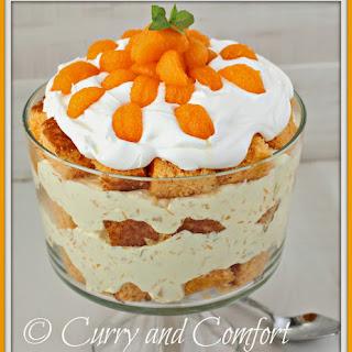 Dreamy Pineapple-Orange Trifle.