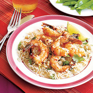 Coconut Shrimp and Rice.