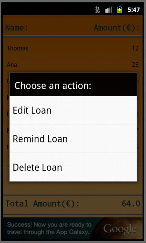 Cash Control - screenshot