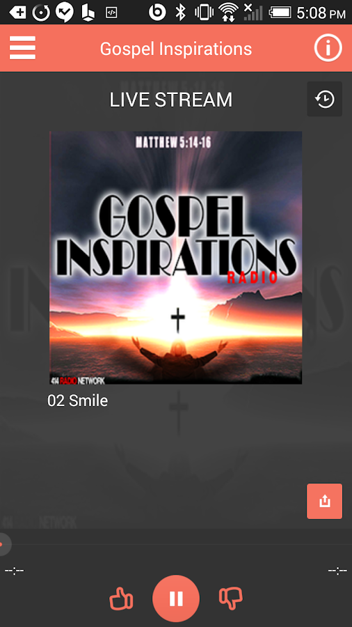 Gospel Inspirations Radio- screenshot