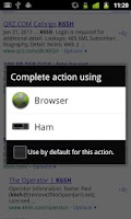 Screenshot of Ham