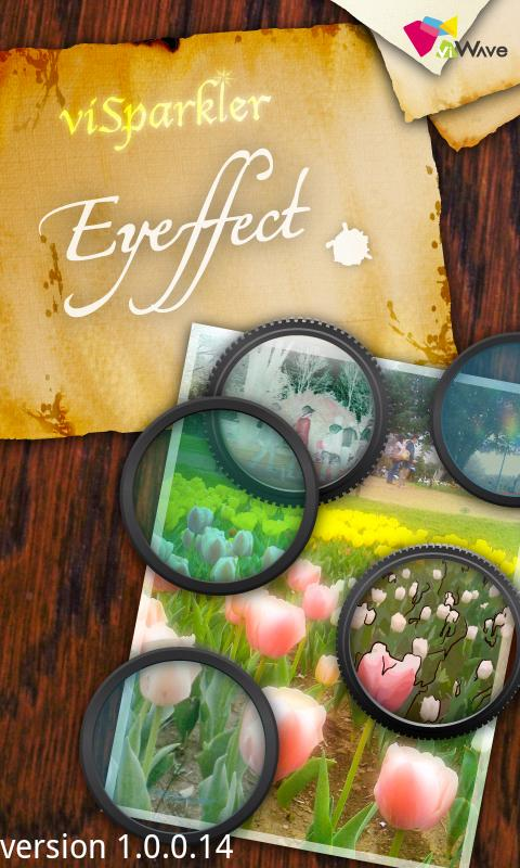 viSparkler-Eyeffect - screenshot