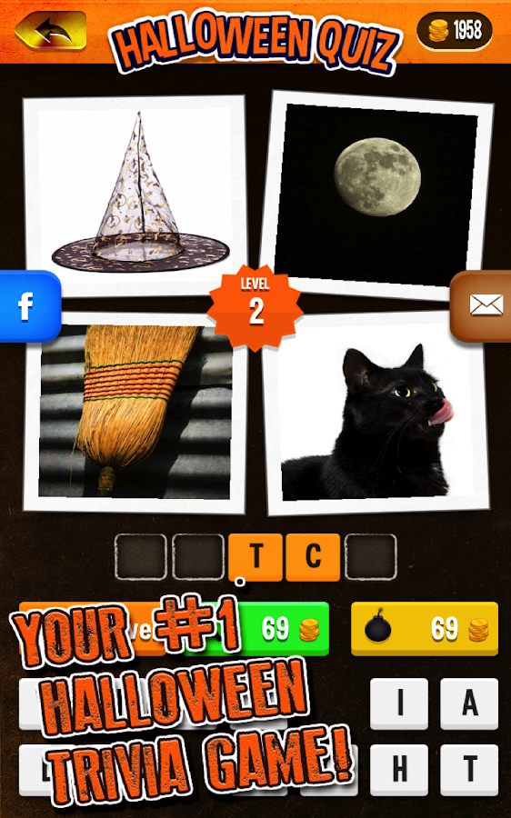 halloween quiz screenshot - Halloween Trivia With Answers