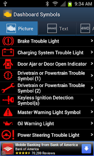 Vehicle Dashboard Symbols- screenshot thumbnail