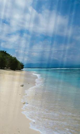 海灘動態壁紙