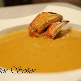 Blue Crab Cream Soup.