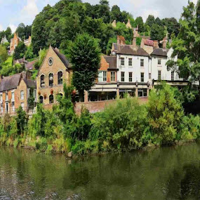 Wharfage by Simon Alun Hark - Novices Only Landscapes