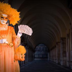 at carnevale di venezia by Alexander Kulla - News & Events World Events ( venezia, masken, carnevale di venezia, karneval, venice, italien, venedig, carnevale, reise, mask, maske, italy )