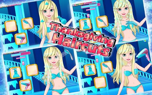 Princess Thanksgiving Haircuts