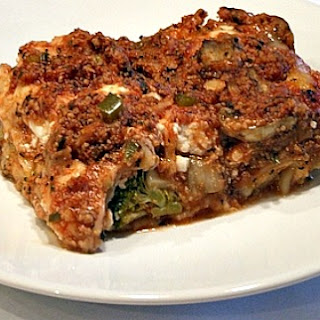Veal and Broccoli Lasagna.