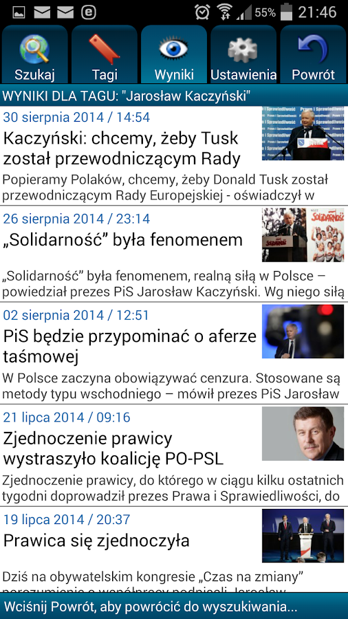TV Trwam i Radio Maryja Polska- screenshot