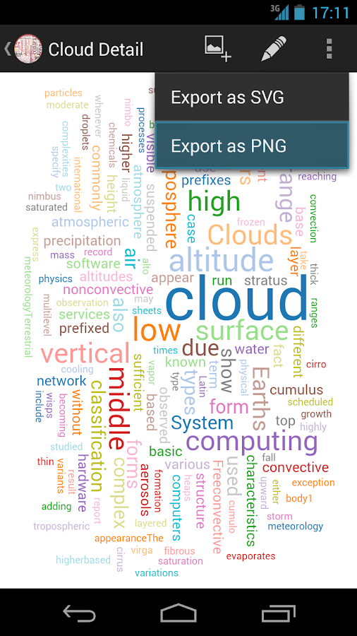 iLanguage Cloud- screenshot