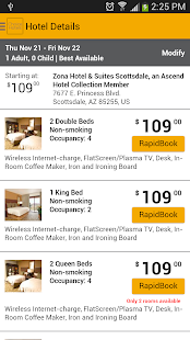 Choice Hotels – Book Now! - screenshot thumbnail