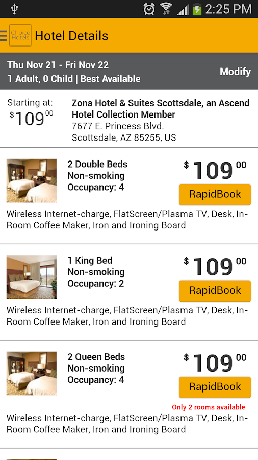 Choice Hotels – Book Now! - screenshot
