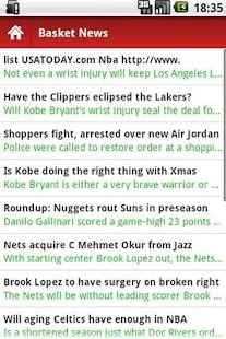Basketball News - screenshot thumbnail