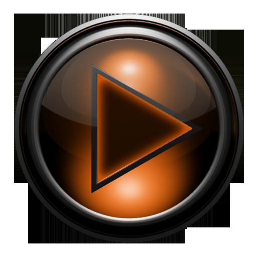 Poweramp skin 土衛六橙色網格 LOGO-APP點子