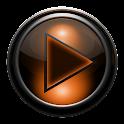 Poweramp skin TITAN ORANGEGRID icon