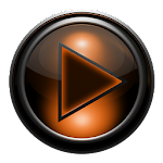Poweramp skin TITAN ORANGEGRID v2.03