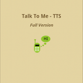 Talk To Me-TTS - Full Version