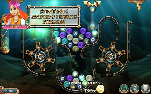 League of Mermaids: Match-3- screenshot thumbnail