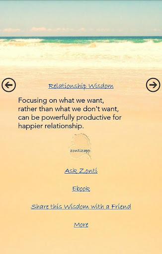 Relationship Wisdoms