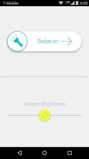 White Light Flashlight