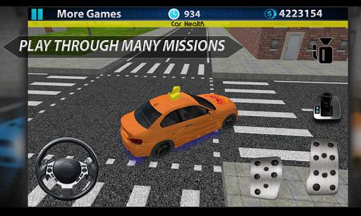 運転することを学ぶ:駐車場の3D