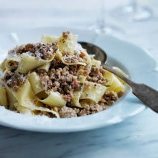 Andrew Carmellini's Pappardelle With White Bolognese.