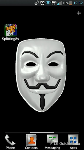 Anonymous Live Wallpaper