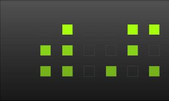 Screenshot of mBINclock