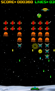 Alien Raiders (Space Invaders) - screenshot thumbnail