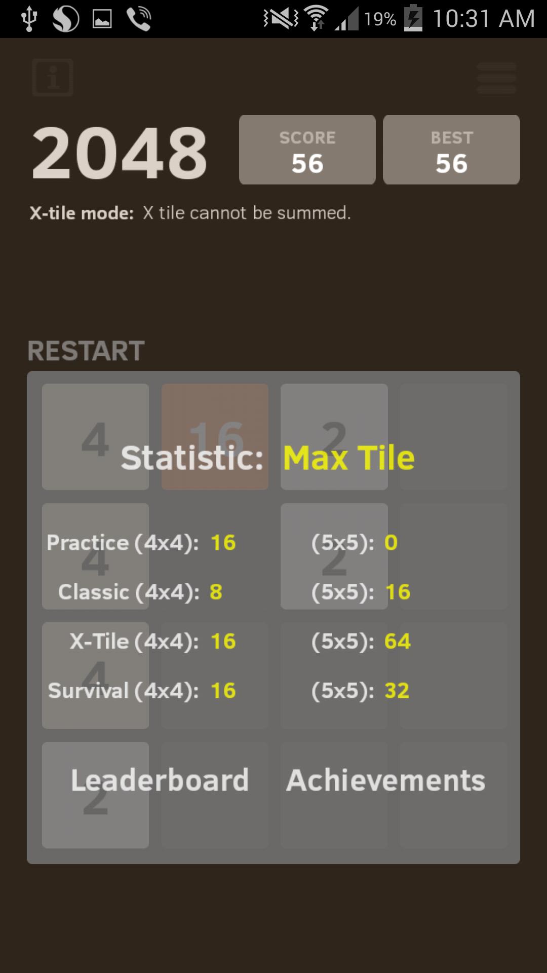 2048 Number puzzle game screenshot #6