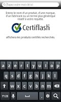 Screenshot of Certiflash
