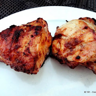 Grilled Mayonnaise Bone-in Skin-on (Split) Chicken Breast