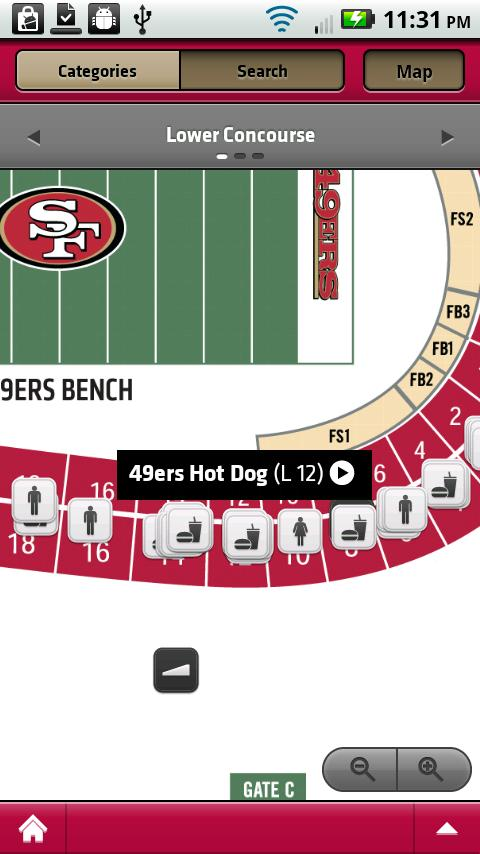 49ers Gameday Live - screenshot