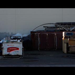 Back Alley Office by Tom Hearn - Buildings & Architecture Other Exteriors ( rubbish, derelict, flow, objects, design )